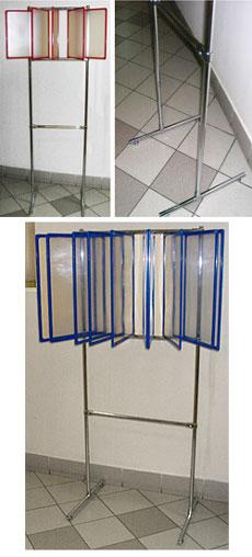 Рамки пластиковые с защитными вкладышами