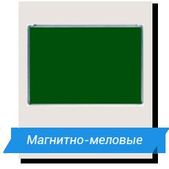 магнитно меловая доска